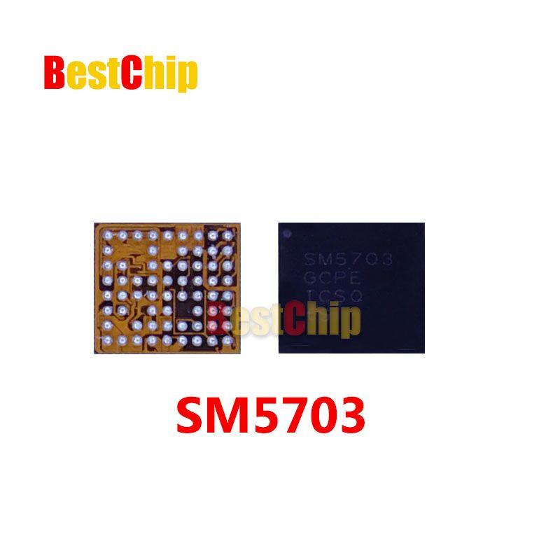 e184a46325479 2 pçs lote SM5703 IC para A8 A8000 J500F carregamento de carregamento USB  carregador IC