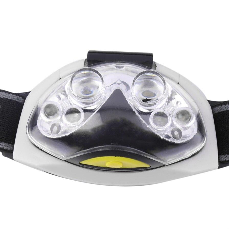 ICOCO Ultra Helle 6 LED Kopf Lampe Licht Taschenlampe Scheinwerfer Scheinwerfer 3 Modi neue ankunft