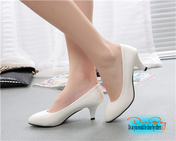Aliexpress.com : Buy Fashion Women Pumps Party Shoes Pointed Toe ...