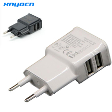 Phone Usb Charger Adapter 5.2v 2a Fast Speed Charge Eu Plug Wall Travel for Samsung Galaxy J5 A5 A3 2016 S7 S6/Huawei P9 P8 Lite