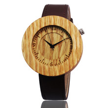 2016 Limited Edition Red Oak JapanMIYOTA Movement Wooden Watches For Men And Women Sport Round Giftz Wristwatch For Christmas медиа doom oak edition