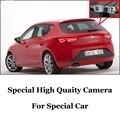 Камера автомобиля Для SEAT Leon 1 P 5F MK2 MK3 2006 ~ 2016 Высокое Качество Заднего Вида Резервное Копирование Камеры Для Любителей | CCD + RCA