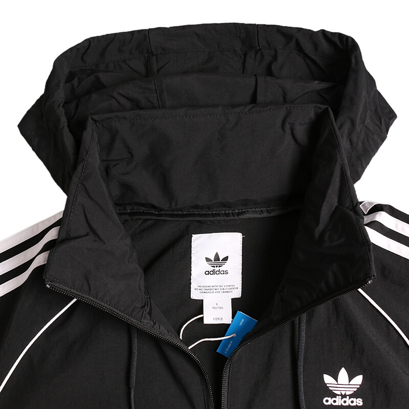 6477caf7992b Original New Arrival 2018 Adidas Originals SST WINDBREAKER Men s jacket  Sportswear-in Running Jackets from Sports   Entertainment on Aliexpress.com  ...