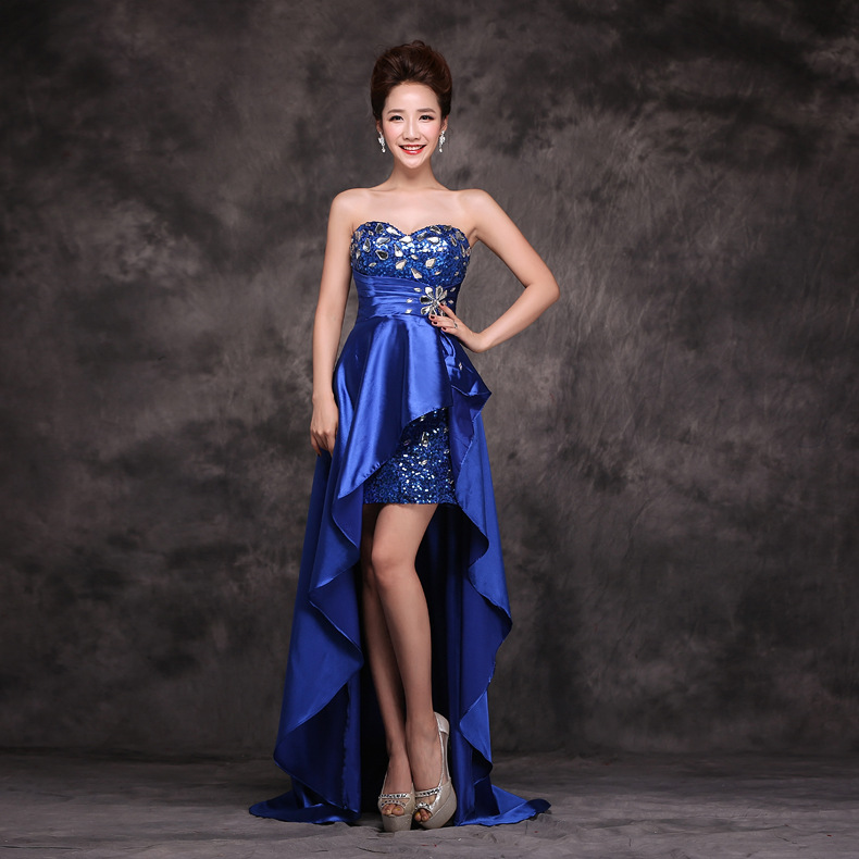 Online Get Cheap Blue Crystal Cocktail Dresses -Aliexpress.com ...