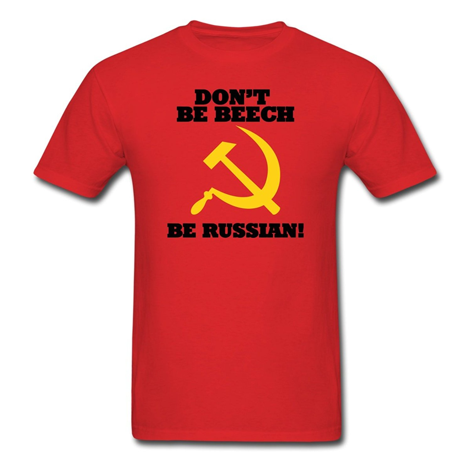FPS Russia Dont Be Beech Be Russian Mens T-Shirt