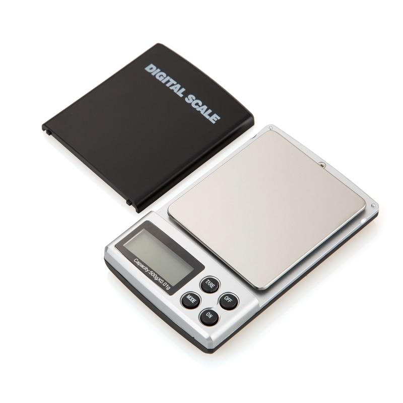 500g 0,01 g nešiojamų elektroninių svarstyklių 500G 0,01 - Matavimo prietaisai - Nuotrauka 5