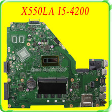 For Asus motherboard A550L A550LA R510L R510LA X550L X550LA motherboard X550LD REV2.0 Mainboard With i5-4200U HD 4400 100% Work