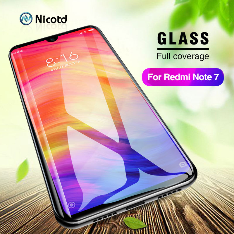 For Xiaomi Redmi Note 7 Screen Protector Nicotd Glass Tempered For Xiaomi Black Shark Helo Redmi Note 3 4X 5 Xiomi A2 Lite Play
