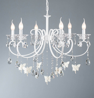 Phube Lighting Lovely Angel Chandelier Nordic Modern Crystal Chandeliers Lustre Light Lighting Free Shipping