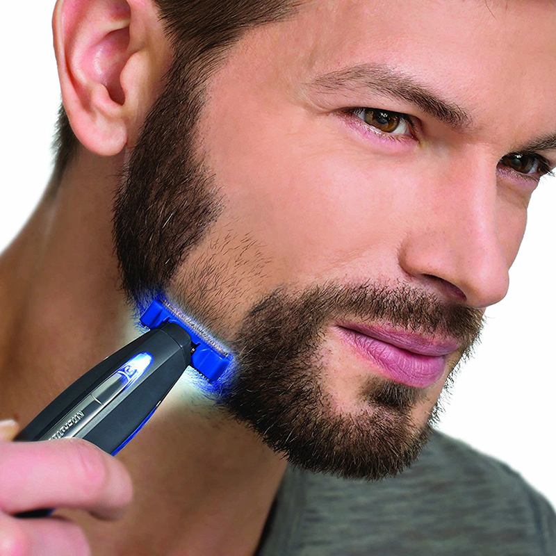 Multifunction Micro Touch SOLO Rechargeable Shaver Men Peronal Hair Cleaning Shaver Trimmer and Edger Hyper-Advanced Smart Razor (12)