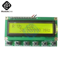Ad9850 6 bandas 0 55 55 mhz dds gerador de sinal rádio presunto digital rit vfo ssb
