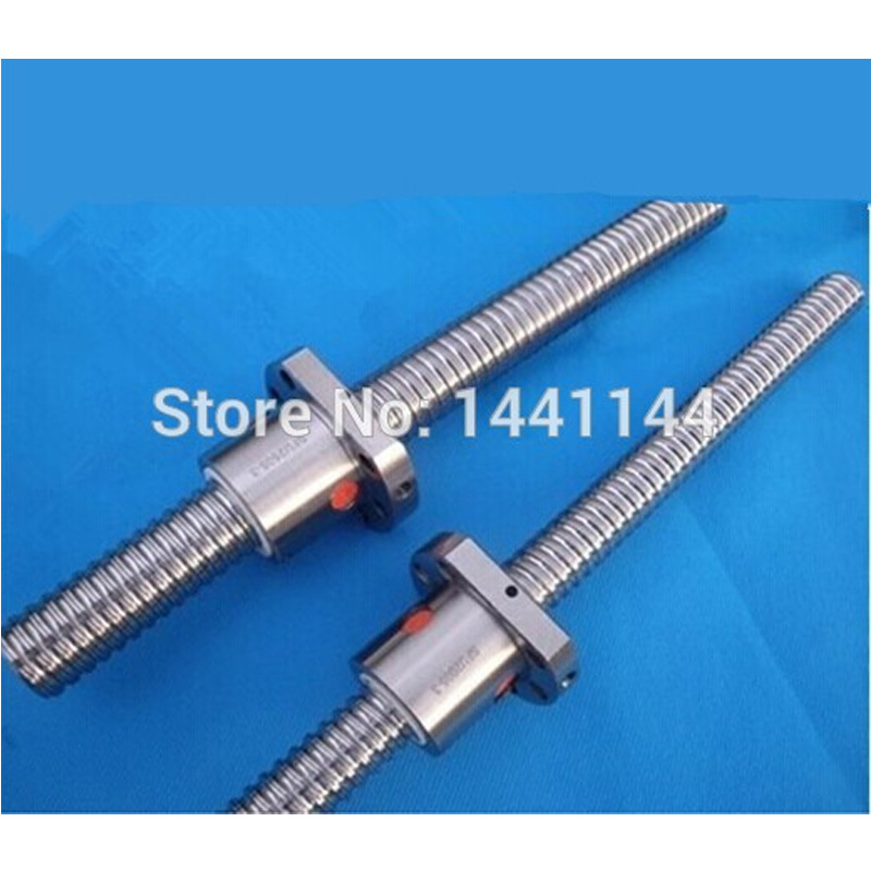 1pcs ball screw RM1604 - 400mm with 1pcs SFU1604 single ball nut for cnc router цена