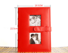 CV Limited Edition Top Fashion 9 Inch Photo Albums High Quality Album 200 Sheets