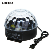 Dj Moving Head Laser Disco Light Digital LED RGB Crystal Magic Ball Effect Light DMX 512