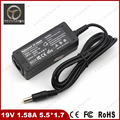 Welcome Bulk Order 19V 1.58A 30W 5.5*1.7 Universal AC Adapter Charger for Acer Aspire One ZG5 ZA3 NU ZG8 ZH6 P531 P531F PAV70