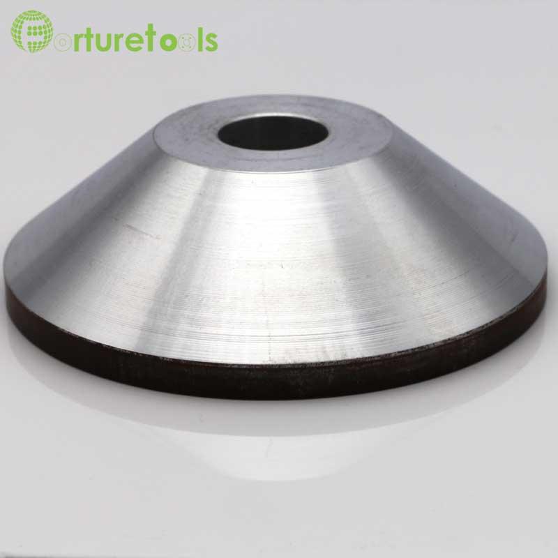 4 tums brinnande diamantkoppshjul för volframkarbid hårdlegering - Slipande verktyg - Foto 5
