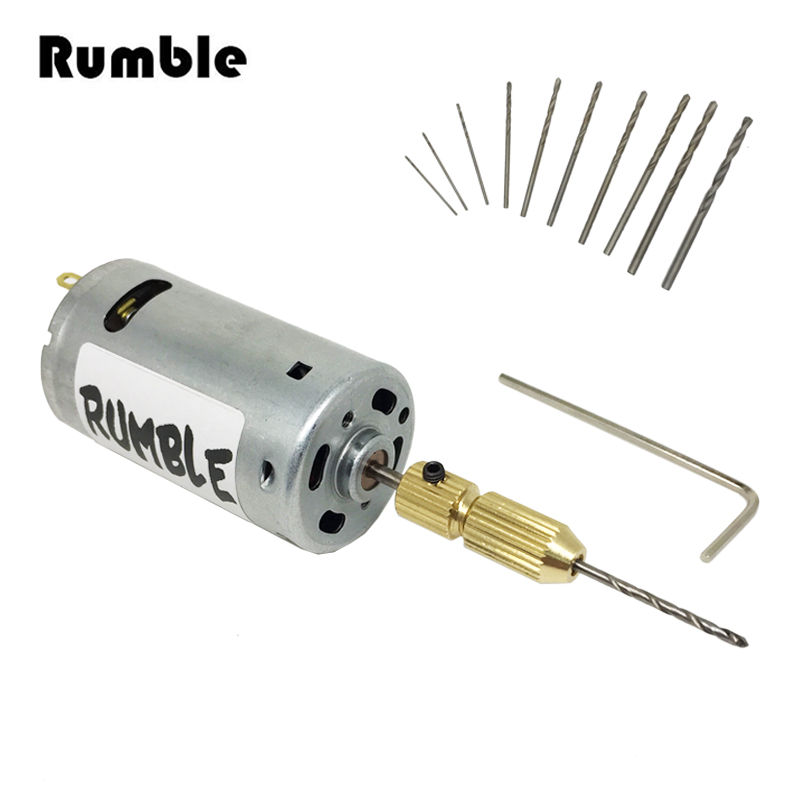 Buy 13pcs set dc 12v electric mini mirco for Small electric motor parts