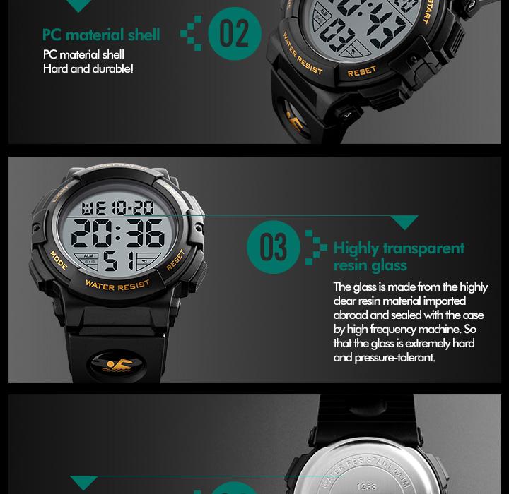 fe3ba9c2df5 Hot skmei marca relógios esportivos de luxo homens de moda ao ar livre  multifuncional relógio digital led relógios de pulso homem relogio  masculinoUSD ...