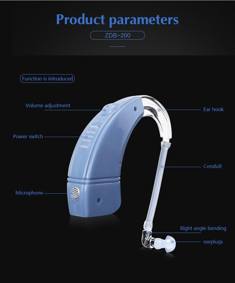 hearing aid 8
