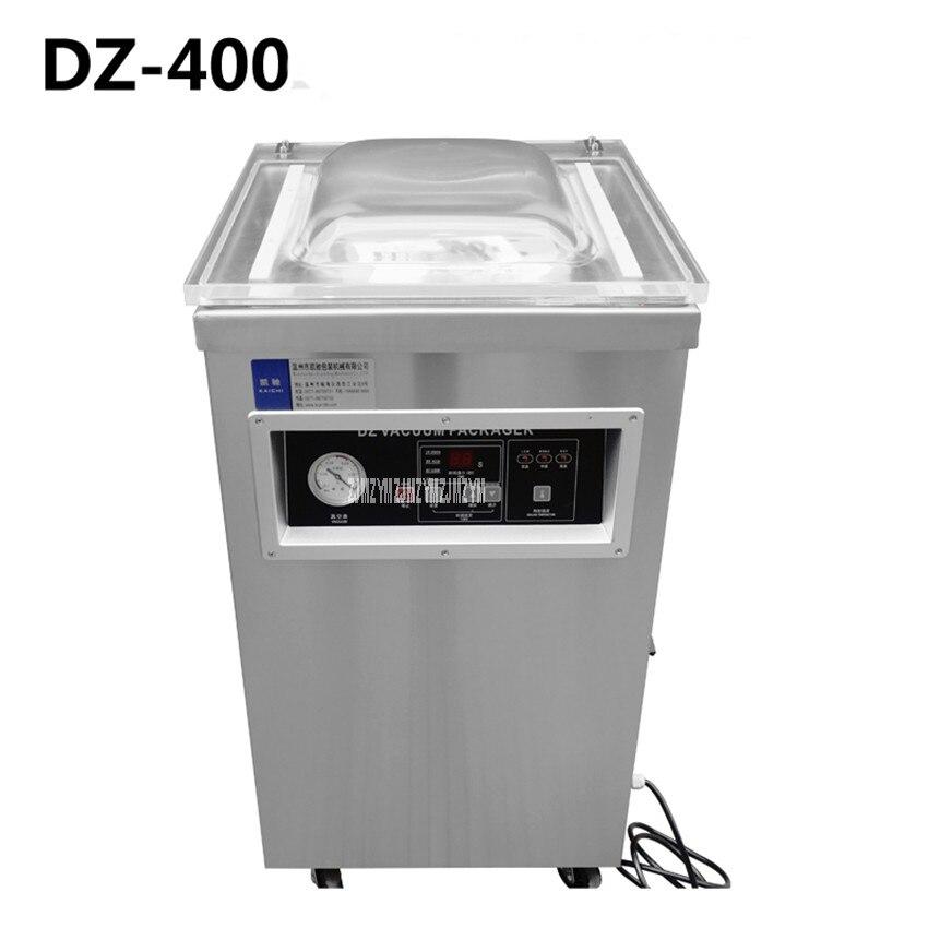 Scellant sous vide de thé de riz de nourriture de DZ-400 220 V/50 hz, chambre de vide de machine à emballer sous vide, machine de cachetage de vide de sacs en aluminium