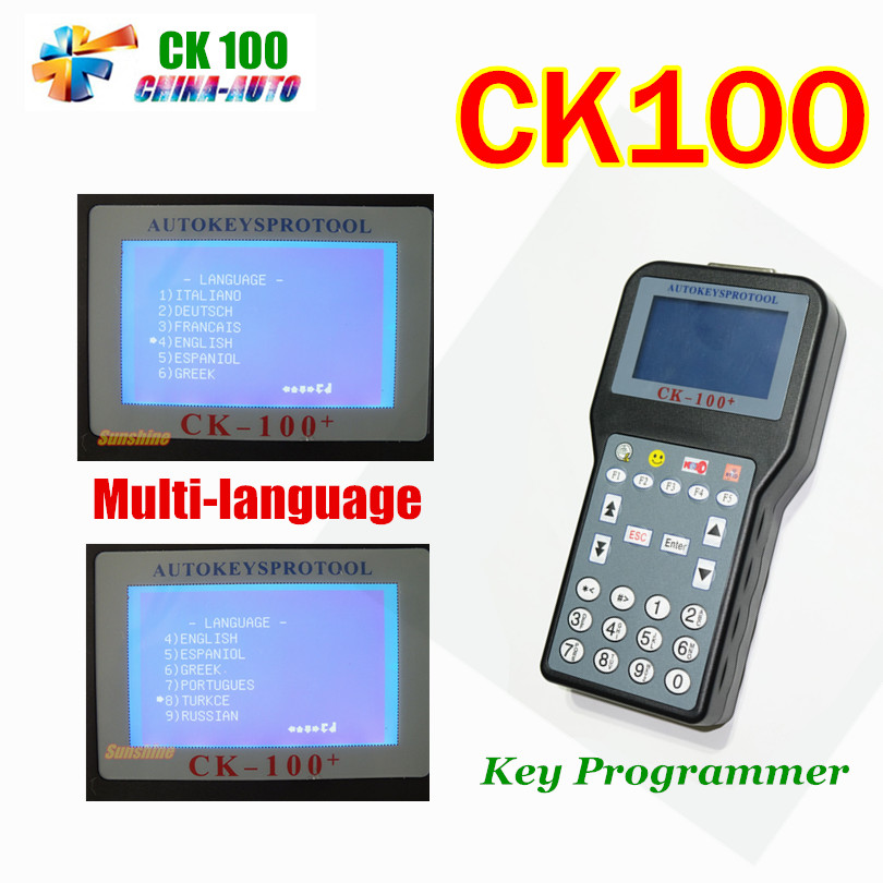Promotion The Latest Generation V99.99 CK100 Auto Key Programmer SBB CK 100 With Multi-language OBD2 Car Key Programmer CK-100