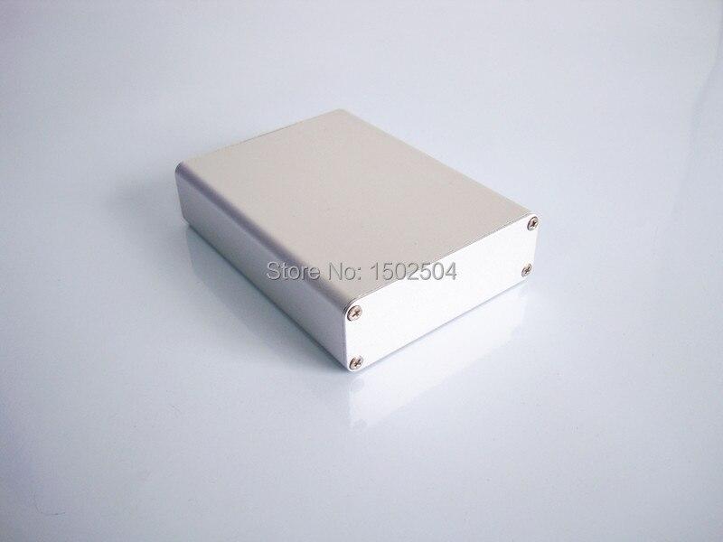 Instrument shell industrial aluminium box Project pcb enclosure DIY 84*28*110mm NEW customize electronics enclosure