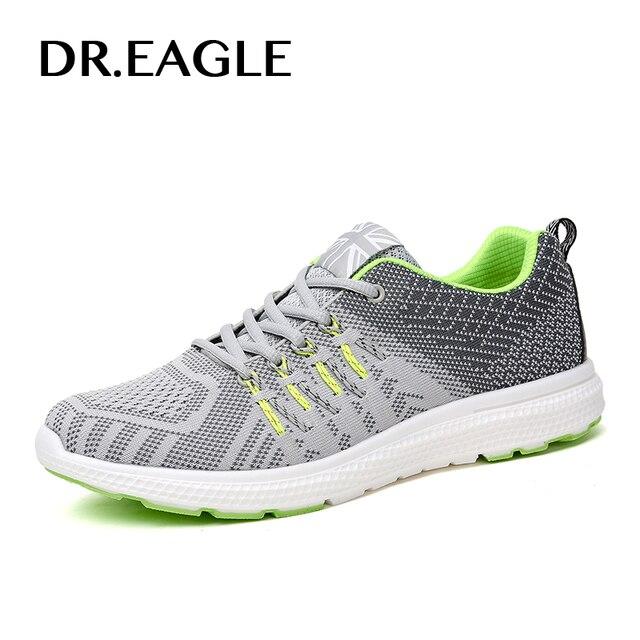 ELANG Man Running Olahraga Sepatu Flyknit Bernapas menjalankan sepatu pria  sepatu olahraga pria Man 5485af0e4d
