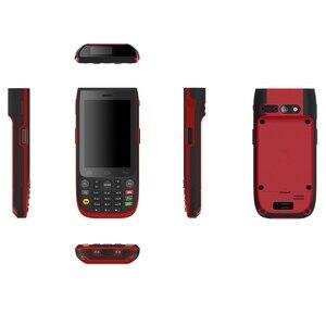 Image 4 - Sincoole 4.0 אינץ אנדרואיד 7.1 מראה מעודן תעשייתי מוקשח כף יד מסוף Keysboard NFC SH57 2D
