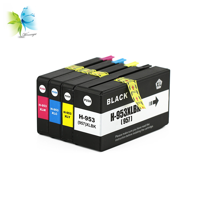 WINNERJET Remanufactured Ink Cartridge for <font><b>HP</b></font> <font><b>953</b></font> for <font><b>HP</b></font> OfficeJet Pro 7740 8210 8710 8715 8720 8730 8740 8725 8728 Printer image