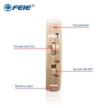 Feie S-520 ушной крючок усилитель звука для пожилых глухих дешевый слуховой аппарат китайская цена слуховой помощник чистый звук
