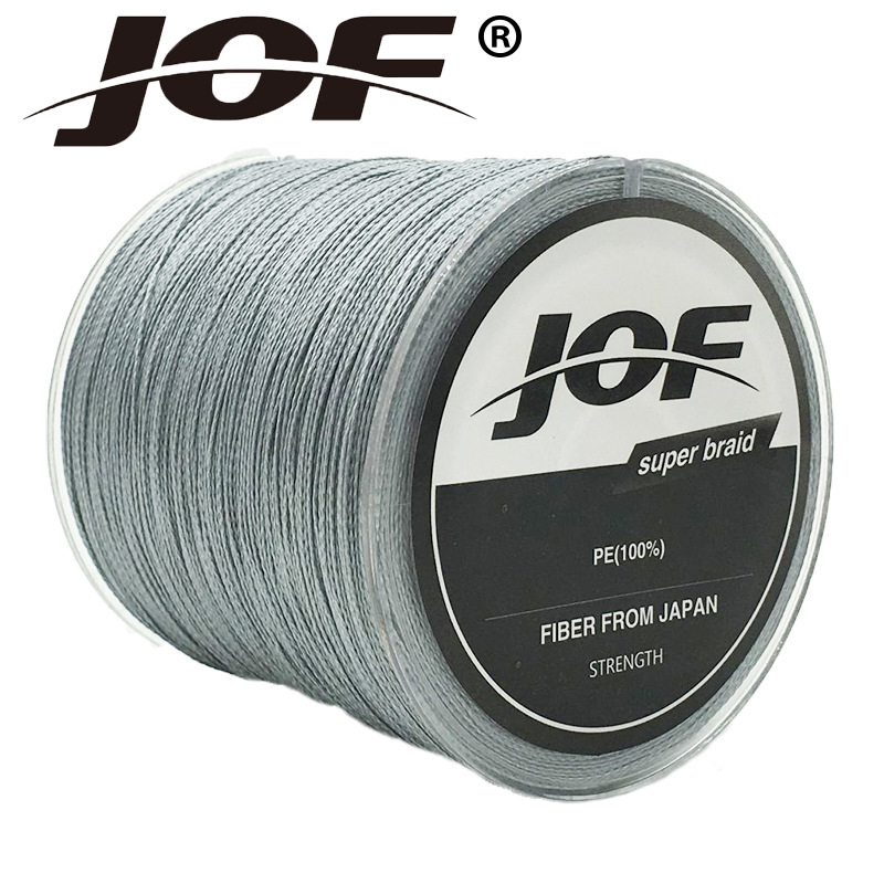 JOF Series 150M 4Strands Multifilament Fishing Line Super Strong PE 4 värvid 8-100LB punutud kalapüügiliin