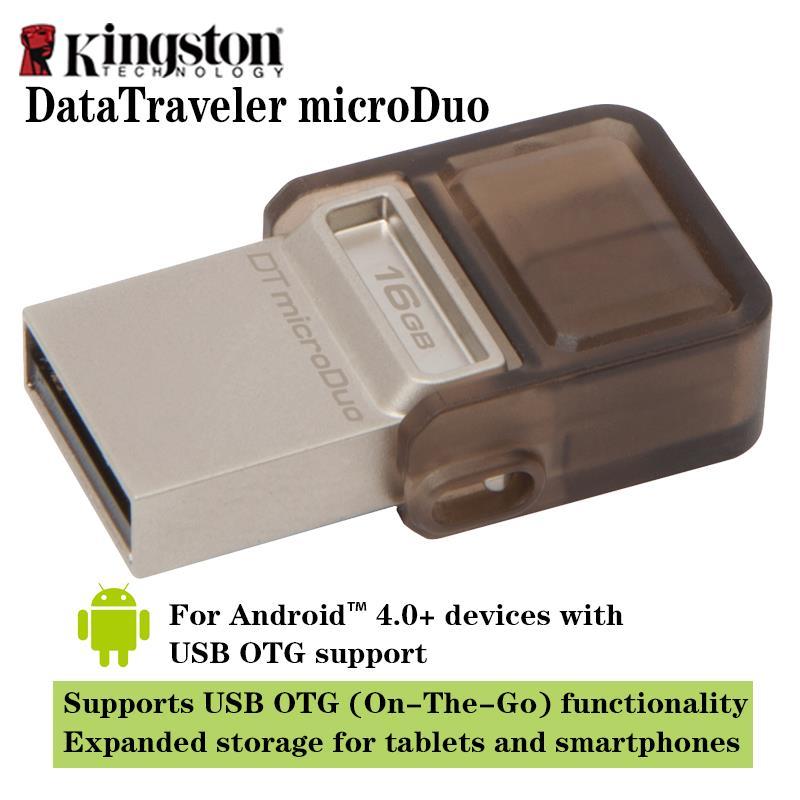Kingston OTG clé usb 2.0 clé USB Smart Memory Micro Clé USB 16 Go - Stockage externe - Photo 2