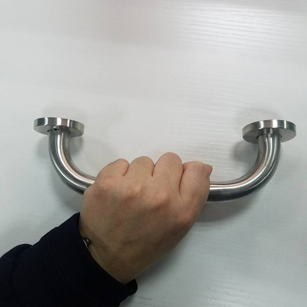 Bathroom Shower Tub Hand Grip Stainless Steel Safety Toilet Support HandleBIUS
