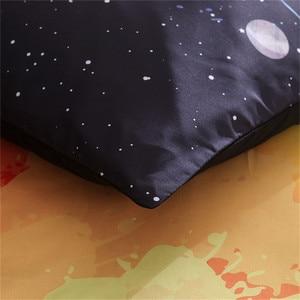 Image 4 - LOVINSUNSHINE Juego de ropa de cama con diseño de galaxia colorida, funda nórdica con funda de almohada, tamaño King y Queen, universo, 2 uds./3 uds.