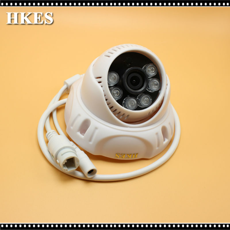 HKES POE HD 1280 x 720P 1.0MP Security Mini Indoor IP Camera ONVIF P2P IP CCTV Cam System диск алмазный bosch 150х22 2мм professional for universal 2 608 602 193