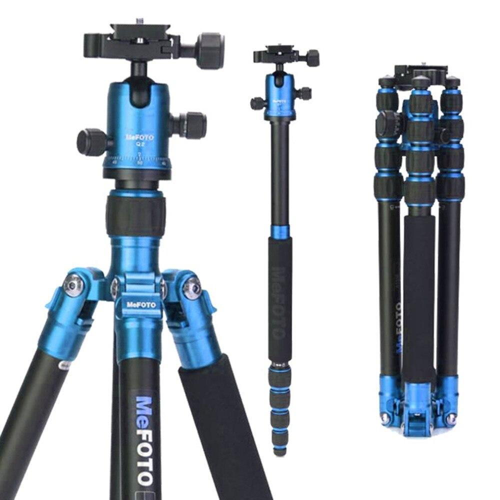 MeFOTO Carbon Fiber Tripod Lightweight Portable Camera Tripod Stand With Tripod Head for C2350Q2 SLR  Photography Equipment