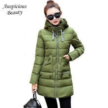 Women's Winter Jacket New Long Cotton Padded Female Coat Parkas Plus Size 7XL Hooded Coat Slim Ladies Snow Wear Coats CXM145