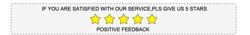 five feedback