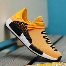 Sports Shoes Male Wheresroad Human Race Yellow Running