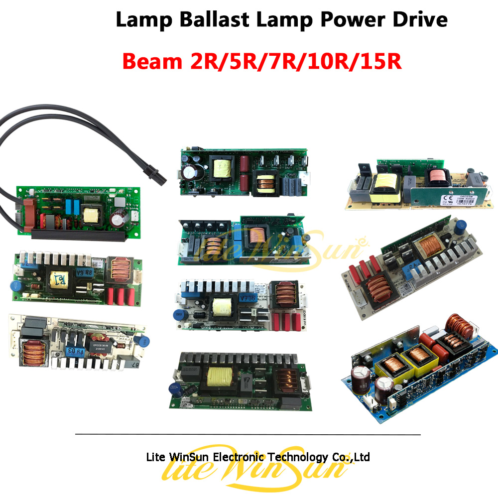 Litewinsune Freeship Lamp Ballast Drive for Sharp Beam Moving Head Cabeza Lyre Light Electronic Ballast Current