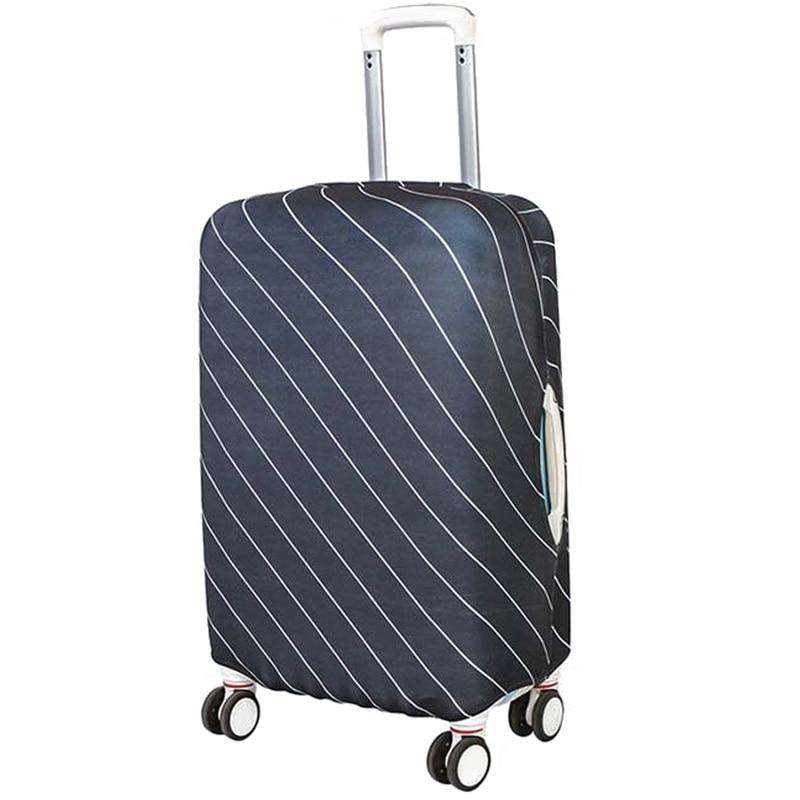 Bagažinės dangtelis lagaminės dangtelis e elastingas dryžuotas - Kelioniniai reikmenys