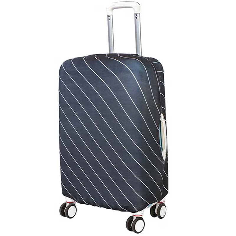 Luggage Cover Suitcase Cover Protector e Elastic Striped Protective Cover for 18-30 inch Suitcase Trolley Case Spandex Fabric joytour jt2020 convenient non woven fabric protective cover for 26 suitcase coffee