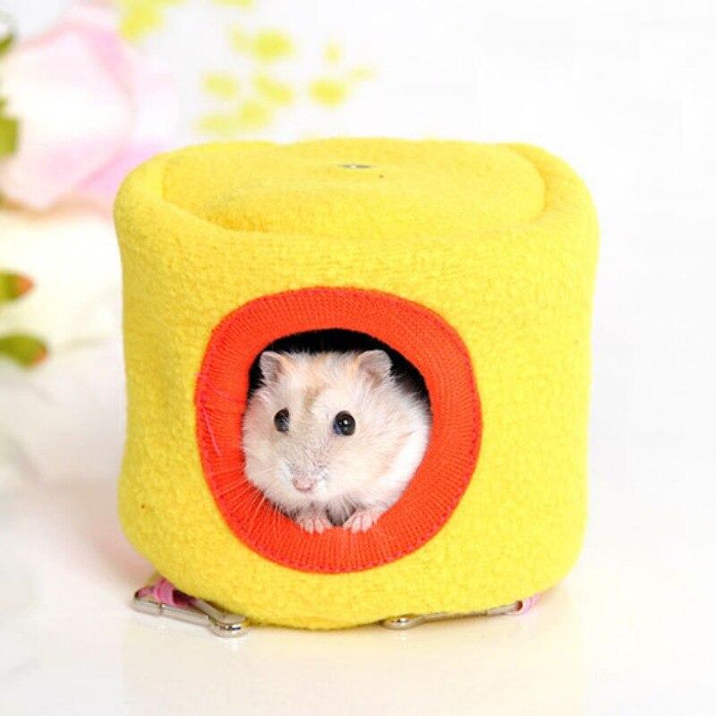10cmX10cm varm mjukt bomull hängmatta bur säng hus för hamster - Produkter för djur