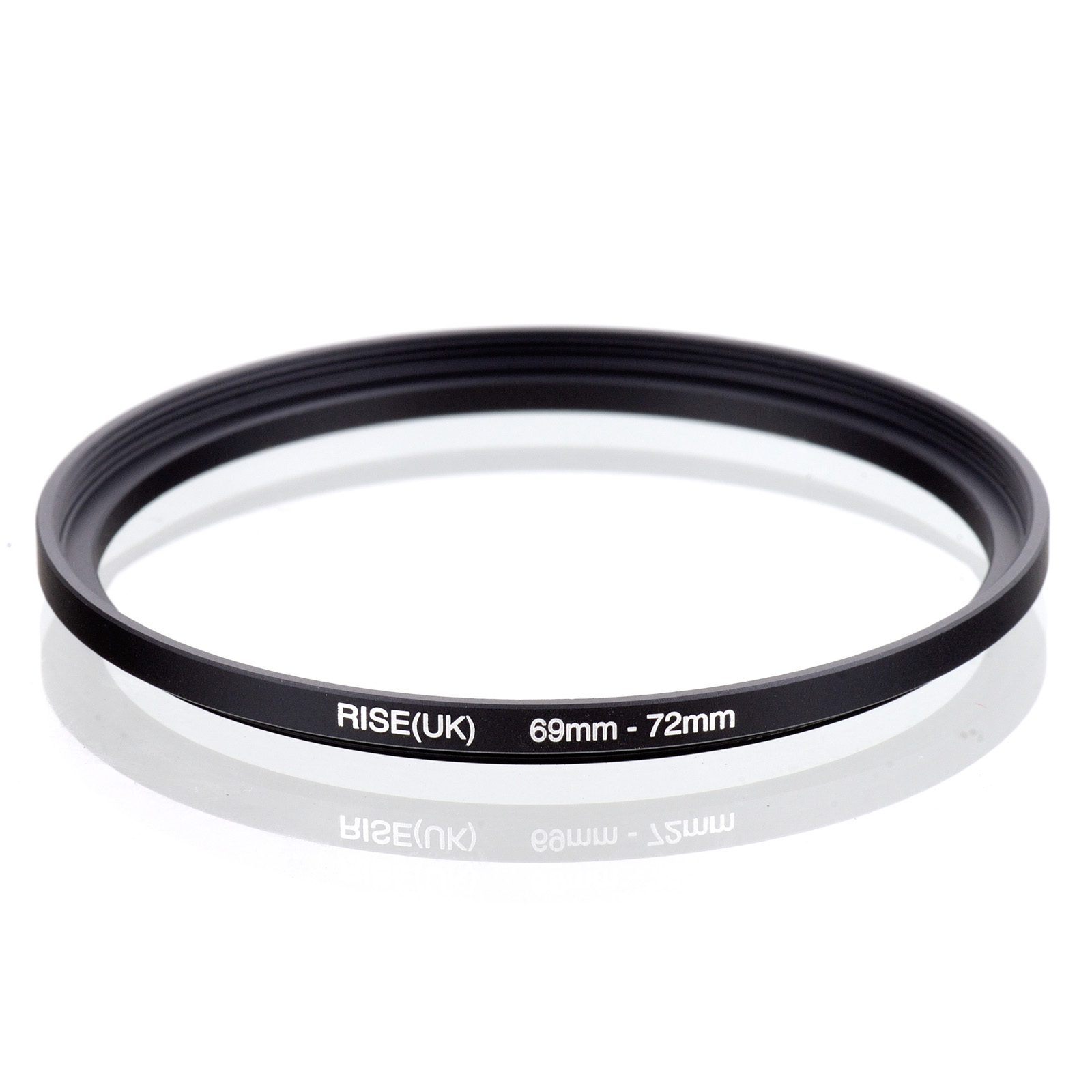 RISE(UK) 69mm-72mm 69-72 mm 69 to 72 Step up Filter Ring Adapter Blackfreeshipping