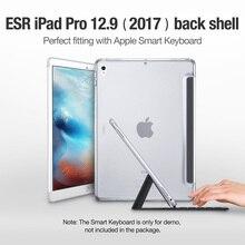 Caso para iPad Pro 12.9 2017, ESR Caso Trasero Duro Pareja Perfecta con Smart Teclado Slim Fit Volver Cubierta de Shell para iPad Pro 12.9