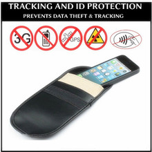 Mobile Cell Phone Mobile RF Signal Shield Blocker Jammer Bag Pouch Case Anti Radiation For Car key shielding bag  for iphone 4/5 crocodile pattern anti radiation signal shielding protective pu bag case for mobile phone brown