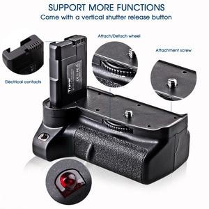 Image 5 - Travor Nuovo Arrivo Battery grip holder per Nikon D3400 DSLR di lavoro Della Macchina Fotografica con Uno o Due EN EL14 Batteria