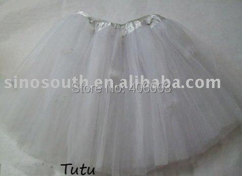 Для маленьких девочек душ Белый Тюль юбка-пачка