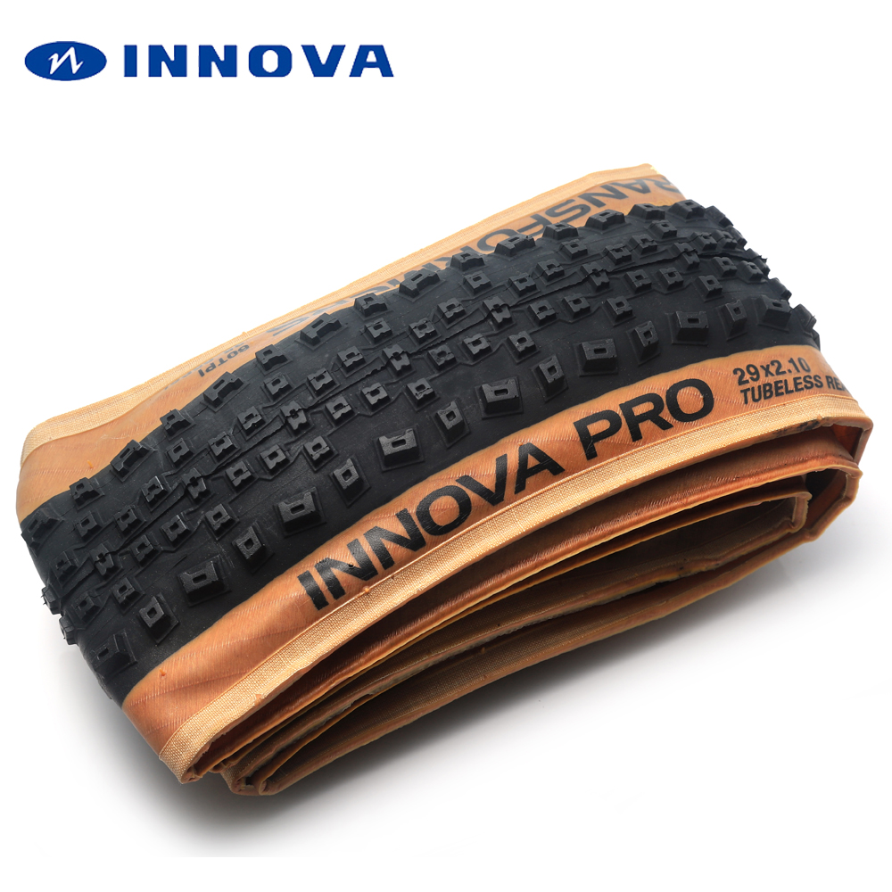 INNOVA-PRO pneu 29 vtt TLR tubeless pneu de bicyclette 29*2.1 60TPI tubeless ready pneus de vélo de montagne 29er SUIS FR XC ultra-léger 600g