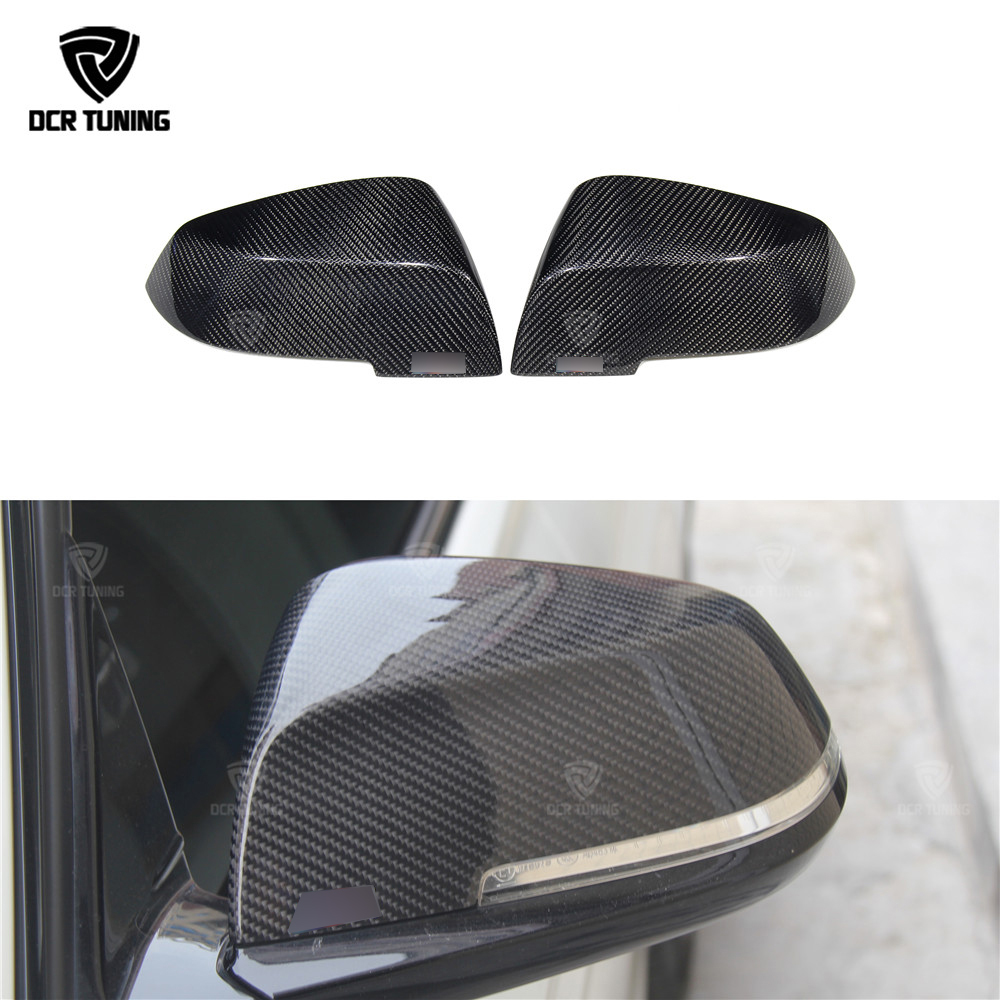 купить For BMW Carbon Mirror F30 F20 F32 F33 F36 X1 E84 2012 - 2018 F30 F32 F33 F20 Carbon Mirror Add On Style & Replacement Style caps по цене 3467.87 рублей